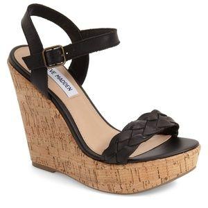 Steve Madden Emmey Platform Wedge Sandal